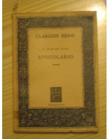 CLÁSICOS EBRO. EPISTOLARIO.