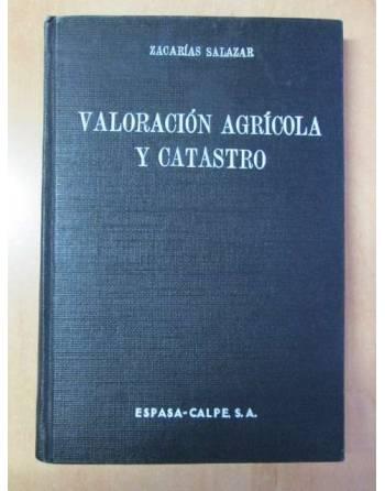 VALORACIÓN AGRÍCOLA Y CATASTRO