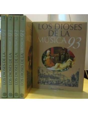 LOS DIOSES DE LA MÚSICA ´93. 5 TOMOS