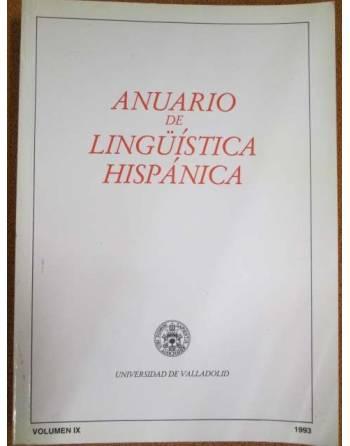 Anuario de lingüística hispánica