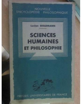 SCIENCES HUMAINES ET PHILOSOPHIE