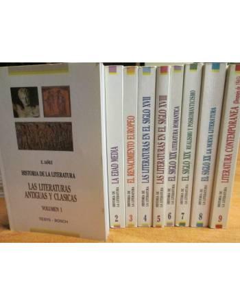 HISTORIA DE LA LITERATURA ((9 LIBROS)