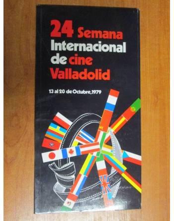24 SEMANA INTERNACIONAL DEL CINE DE VALLADOLID (PROGRAMA)