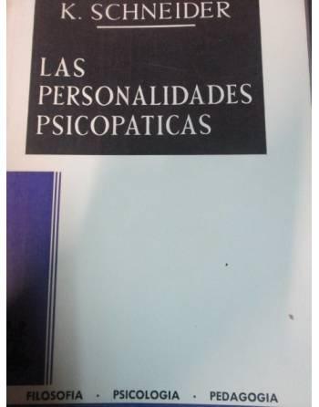 LAS PERSONALIDADES PSICOPATICAS