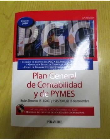 PLAN GENERAL DE CONTABILIDAD Y DE PYMES (EDICIÓN 2010)