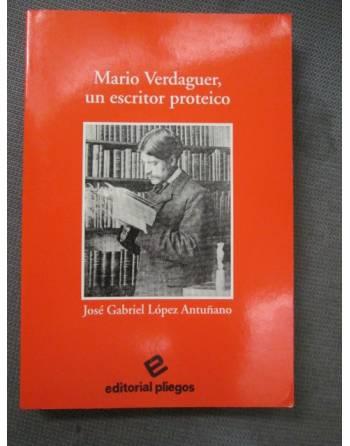 MARIO VERDAGUER, UN ESCRITOR PROTEICO