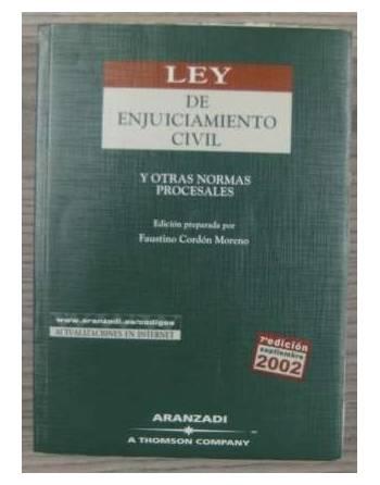 LEY DE ENJUICIAMIENTO CIVIL Y OTRAS NORMAS PROCESALES