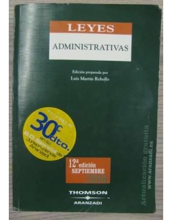 LEYES ADMINISTRATIVAS. 12ª EDICIÓN