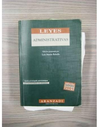 LEYES ADMINISTRATIVAS. 7ª EDICIÓN SEPTIEMBRE 2001