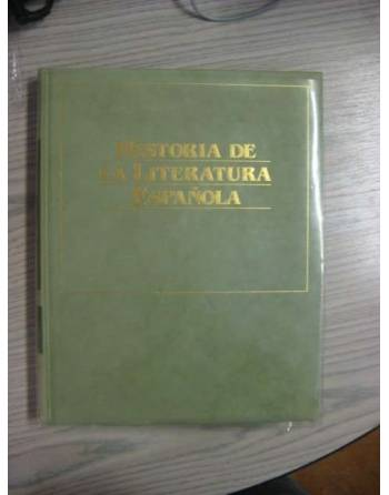 HISTORIA DE LA LITERATURA ESPAÑOLA. VOL I (DE LOS INICIOS AL...