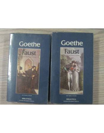 GOETHE: FAUST, A CURA DI FRANCO FORTINI 1 & 2