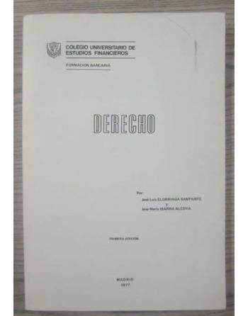 DERECHO. PRIMERA EDICIÓN