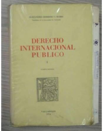 DERECHO INTERNACIONAL PÚBLICO I. CUARTA EDICIÓN