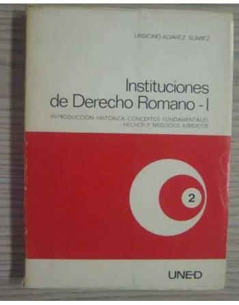 INSTITUCIONES DE DERECHO ROMANO I. INTRODUCCIÓN HISTÓRICA-CONCEPTOS...