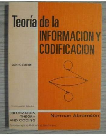 TEORÍA DE LA INFORMACIÓN Y CODIFICACIÓN