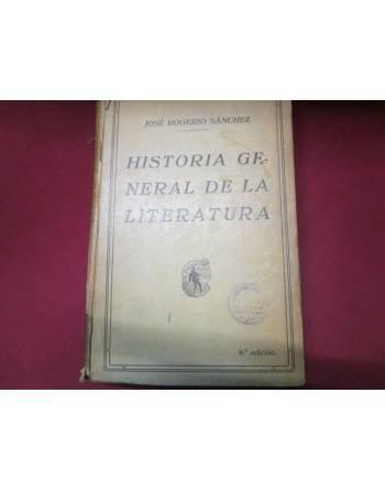 HISTORIA GENERAL DE LA LITERATURA
