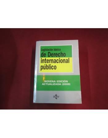LEGISLACIÓN BÁSICA DEL DERECHO INTERNACIONAL PÚBLICO