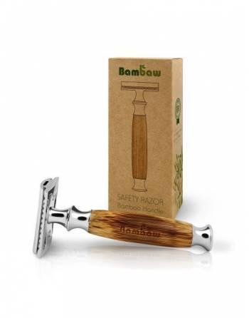Afeitadora mango bambú
