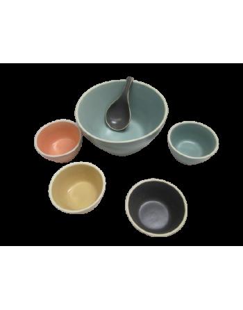 Set bowls con cuchara (Tha) ID