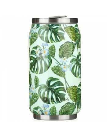 Termo lata Monstera 280ml. A3