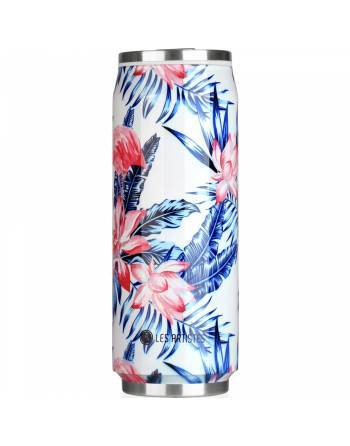 Termo lata Leaf Flamingos 500 ml. A3