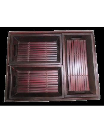 Bandeja bambu 4 piez (VIE) ID