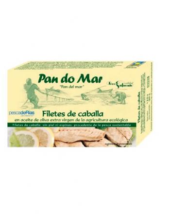 Filetes caballa oliva Pan do Mar