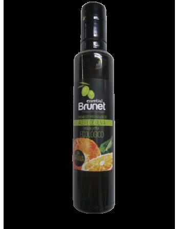 Aceite oliva naranja Brunet