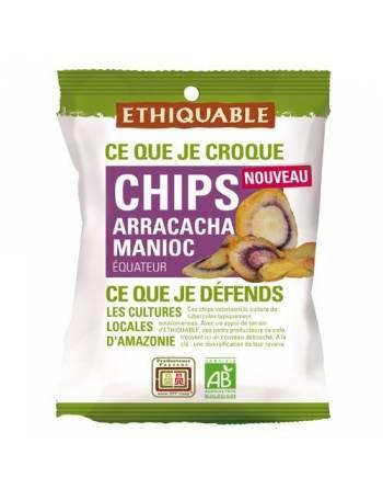 Chips de arracacha y yuca Ethiquable