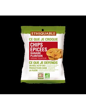 Chips de plátano especiados Ethiquable