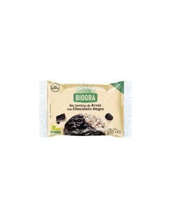 Tortitas arroz choco negro Biográ