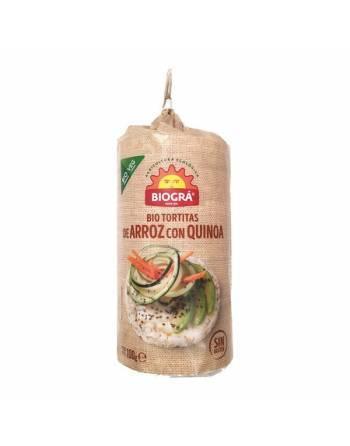 Tortitas arroz quinoa Biográ