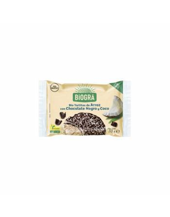Tortitas arroz choco-coco Biográ