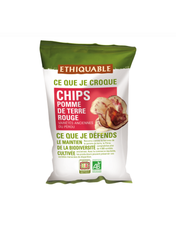 Patatas fritas rojas Bio Ethiquable