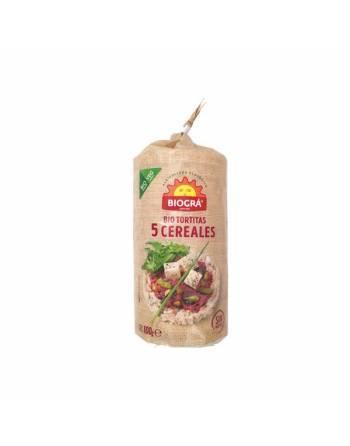 Tortita 5 cereales Biográ