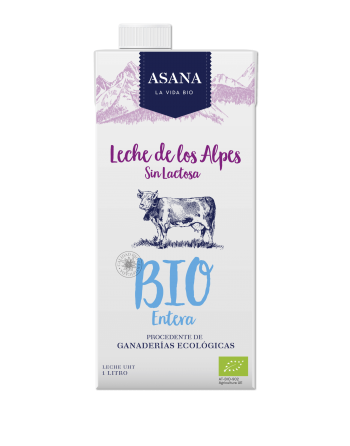 Leche entera sin lactosa ASA