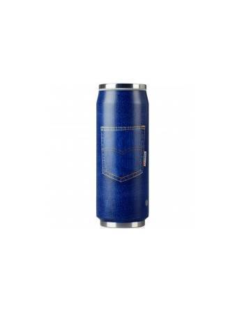 Lata inox Blue Jean 500 ml. A3