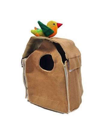Casa pájaro algodón