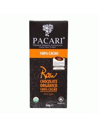 Chocolate Pacari raw 100 %