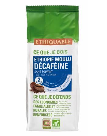 Café descafeinado etiopía molido 250 gr. ID