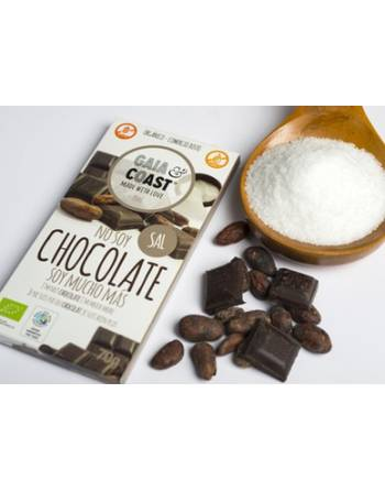Chocolate Gaia&Coast cacao y sal