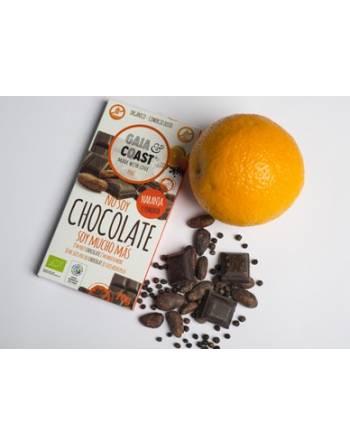 Chocolate Gaia&Coast naranja/pimienta