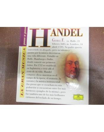HANDEL, GEORGE F., LIBRO Y DVD