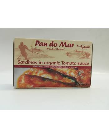 Sardinas salsa tomate Pan Do Mar