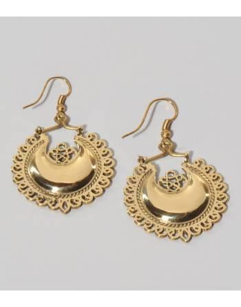Pendientes boho gold, India