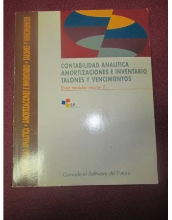 CONTABILIDAD ANALITICA AMORTIZACIONES E INVENTARIO TALONES Y...