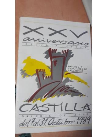 XXV ANIVERSARIO. PINTORES Y ESCULTORES DE VALLADOLID. Del 7 al 31...