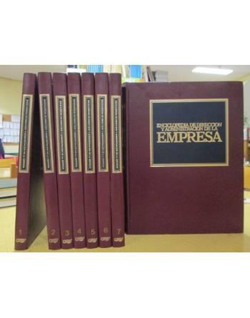 ENCICLOPEDIA DE DIRECCION Y ADMINISTRACION DE LA EMPRESA (8 tomos)