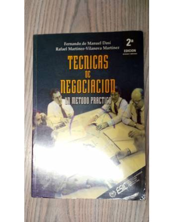 TECNICAS DE NEGOCIACIÓN UN METODO PRÁCTICO