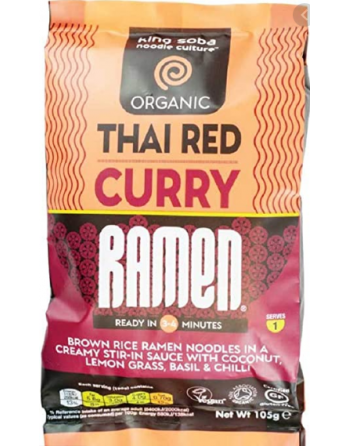 Ramen curry rojo Thai King Soba